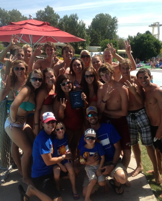 "Nelson Farm guards #1 in state competition for ""Best Lifeguards in Colorado"""